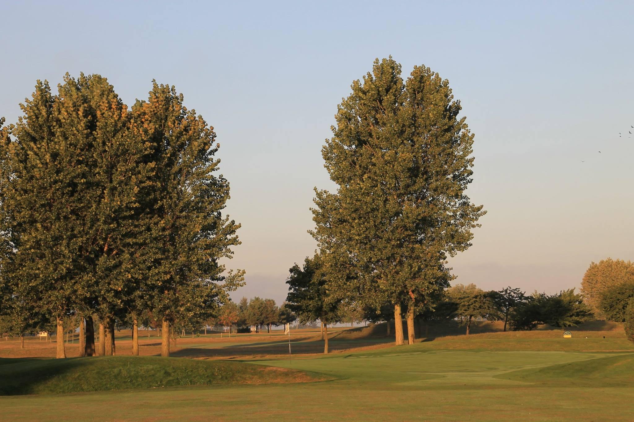 Overview of golf course named Bedinge Golfklubb