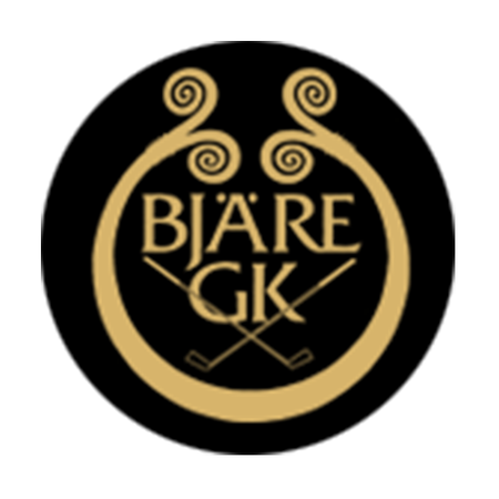 Logo of golf course named Bjare Golfklubb