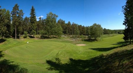 Overview of golf course named Bjorkhagens Golfklubb