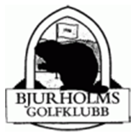 Logo of golf course named Bjurholms Golfklubb and P&p