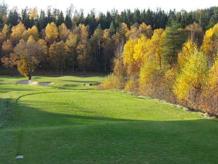 Overview of golf course named Boras Golfklubb