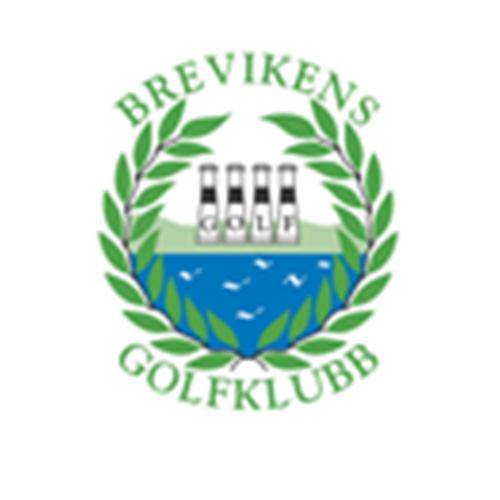 Logo of golf course named Brevikens Golfklubb