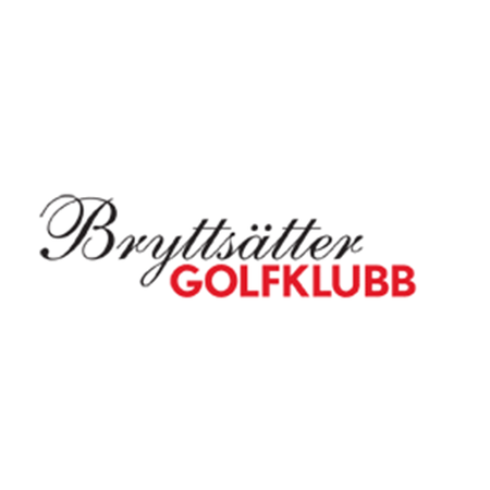 Logo of golf course named Bryttsatter Golfklubb and P&p