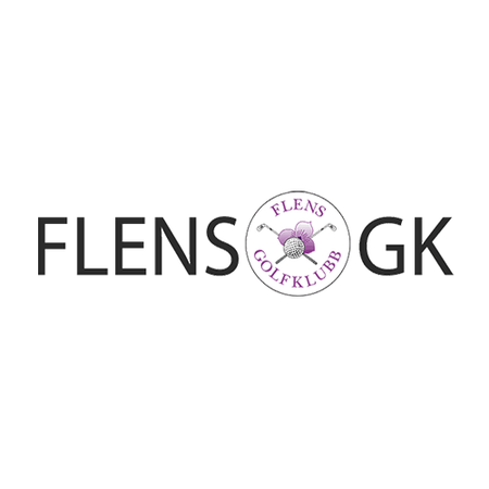 Logo of golf course named Flens Golfklubb