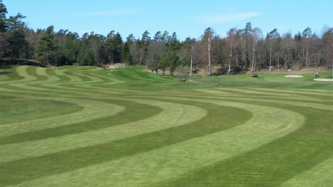 Overview of golf course named Grappas Golfklubb