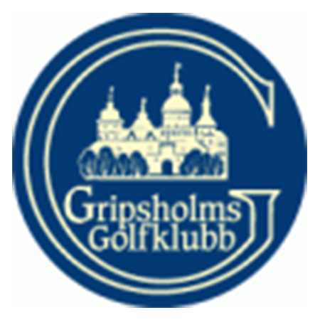 Logo of golf course named Gripsholms Golfklubb