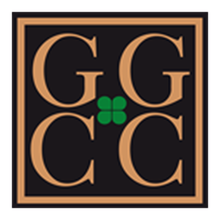 Logo of golf course named Gullbringa Golf and Country Club
