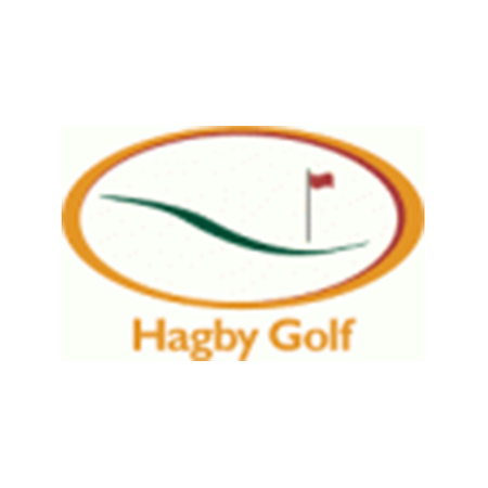 Logo of golf course named Hagby Golfklubb (at Osterakers Gk)