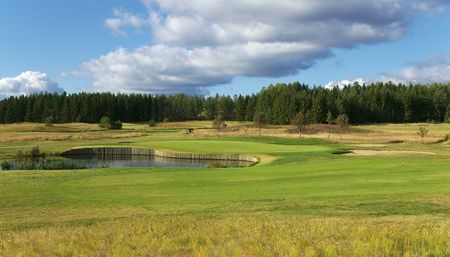 Overview of golf course named Haninge Golfklubb