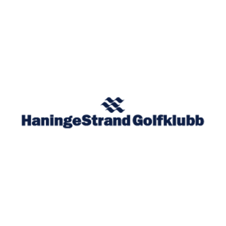 Logo of golf course named Haningestrand Golf Club