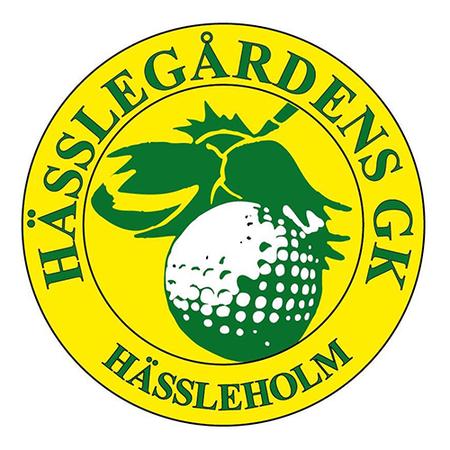 Logo of golf course named Hesslegardens Golfklubb