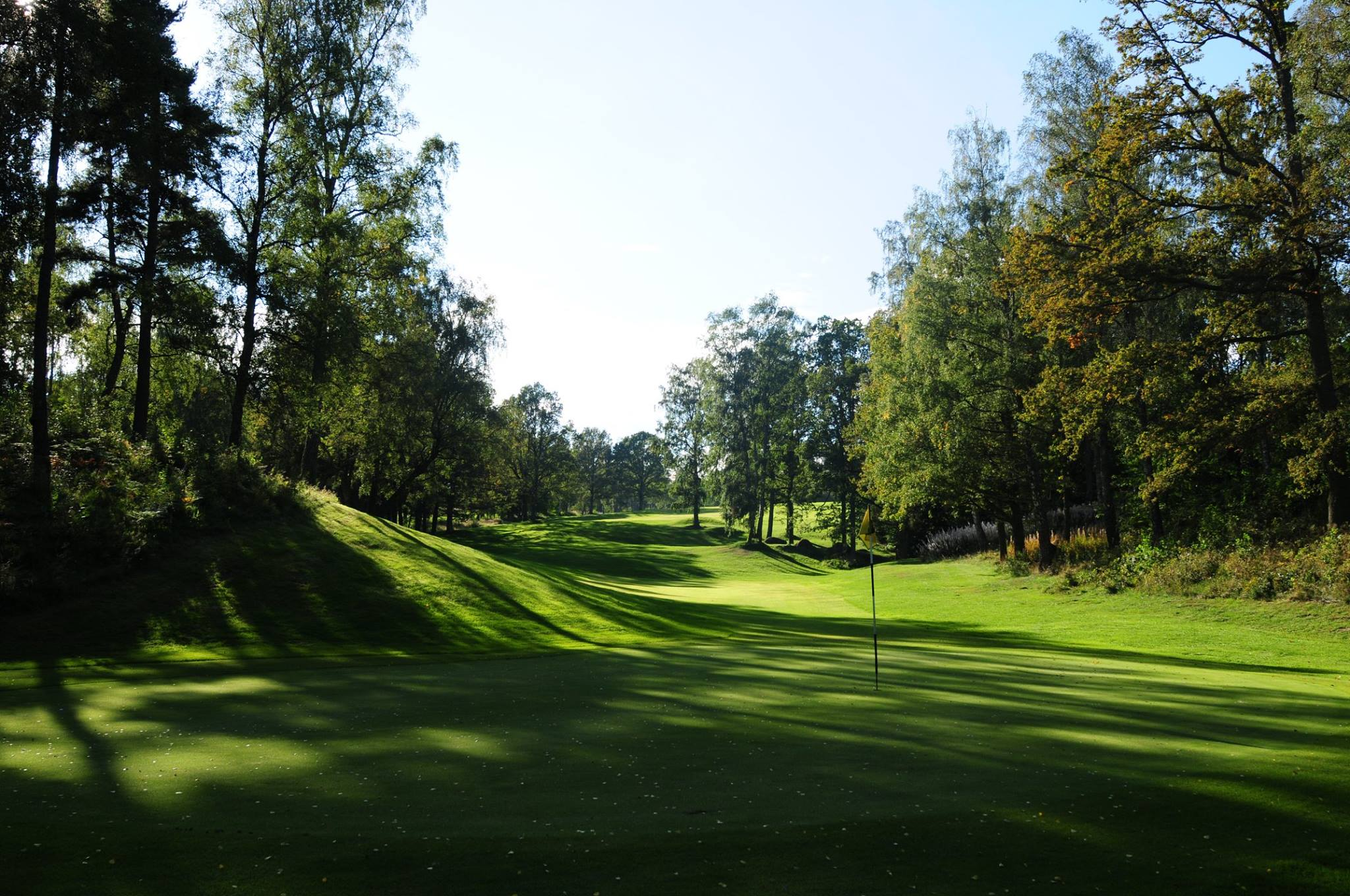 Overview of golf course named Hokensas Golfklubb