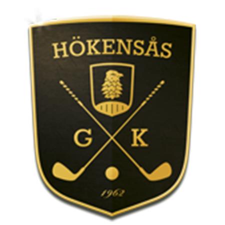 Logo of golf course named Hokensas Golfklubb