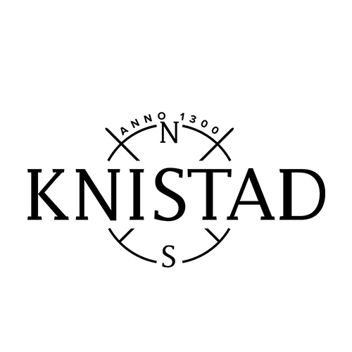 Logo of golf course named Knistad Golf and Country Club