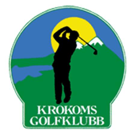 Logo of golf course named Krokoms Golfklubb (Dvarsatt)