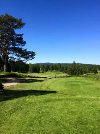 Leksands golfklubb cover picture