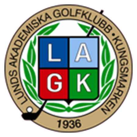 Logo of golf course named Lunds Akademiska Golfklubb