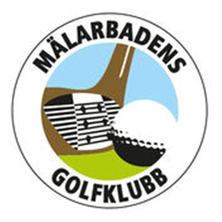 Logo of golf course named Malarbadens Golfklubb
