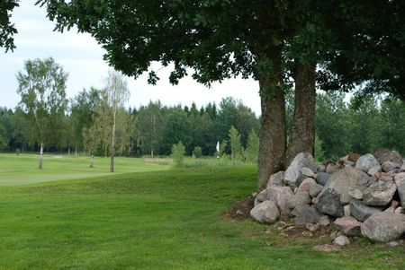 Overview of golf course named Mariestads Golfklubb