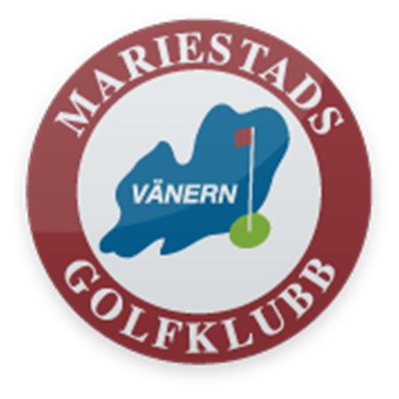 Logo of golf course named Mariestads Golfklubb