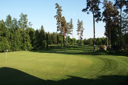 Overview of golf course named Mjolby Golfklubb