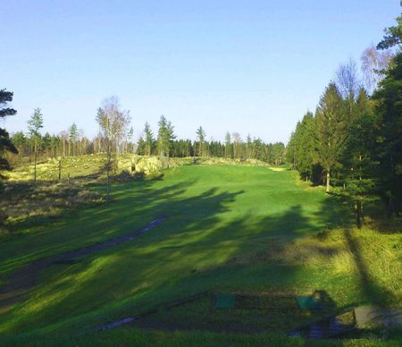 Overview of golf course named Molndals Golfklubb