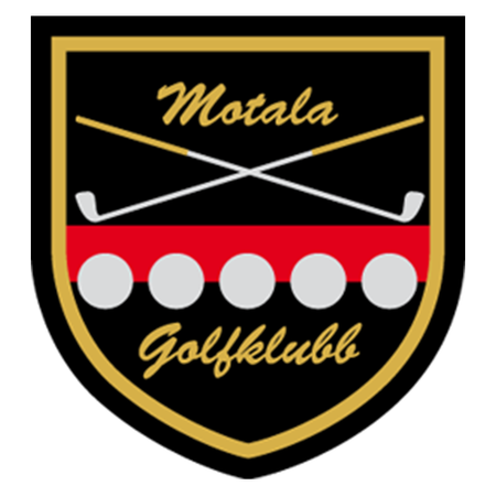 Logo of golf course named Motala Golfklubb