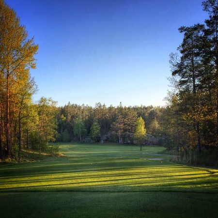 Overview of golf course named Nacka Golfklubb