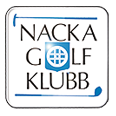 Logo of golf course named Nacka Golfklubb