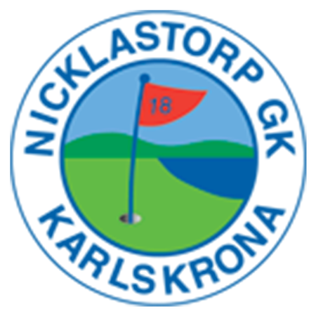 Logo of golf course named Nicklastorp Golfklubb