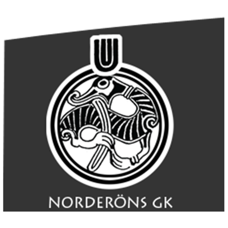 Logo of golf course named Norderons Golfklubb (If Njord)
