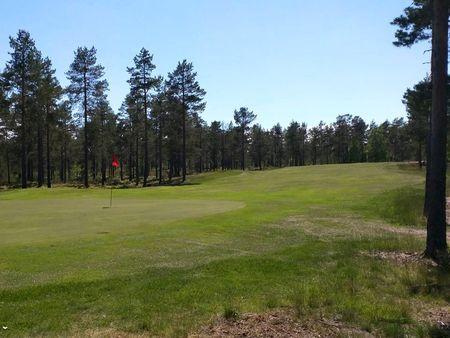 Overview of golf course named Norrfallsvikens Golfklubb
