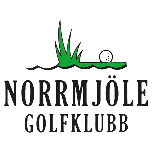 Logo of golf course named Norrmjole Golfklubb