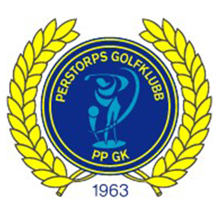 Logo of golf course named Perstorps Golfklubb