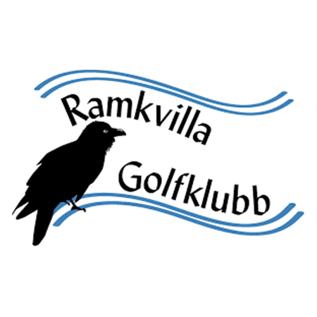 Logo of golf course named Ramkvilla Golfklubb and P&p