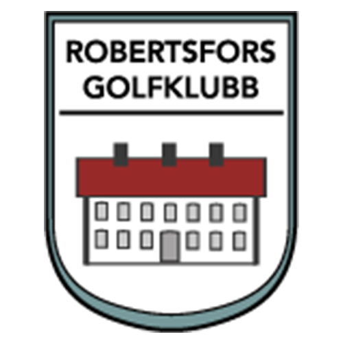 Logo of golf course named Robertsfors Nya Golfklubb