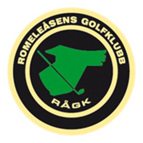 Logo of golf course named Romeleasens Golfklubb