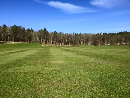 Overview of golf course named Ronneby Golfklubb