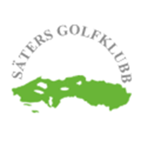 Logo of golf course named Saters Golfklubb