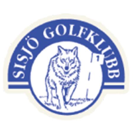 Logo of golf course named Sisjo Golfklubb and World of Golf