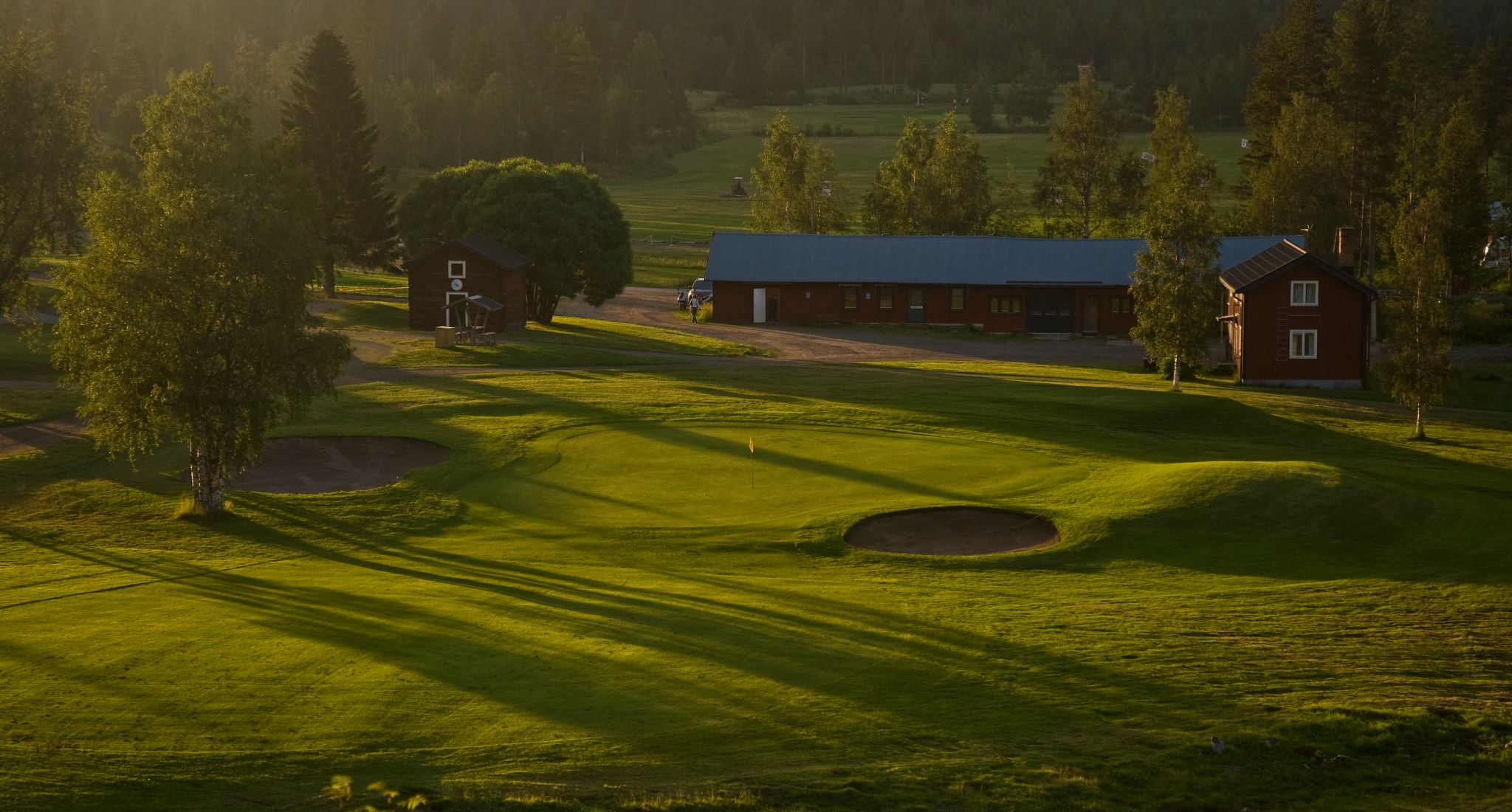 Overview of golf course named Skelleftea Golfklubb
