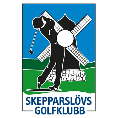 Logo of golf course named Skepparslovs Golfklubb