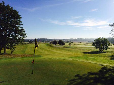 Overview of golf course named Skerike Golfklubb