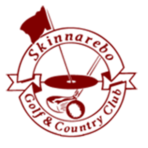 Logo of golf course named Skinnarebo Golf and Cc