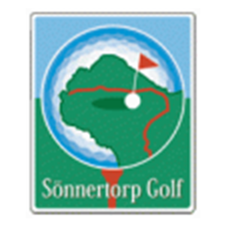 Logo of golf course named Sonnertorps Golfklubb and P&p