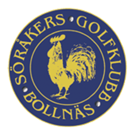 Logo of golf course named Sorakers Golfklubb and P&p