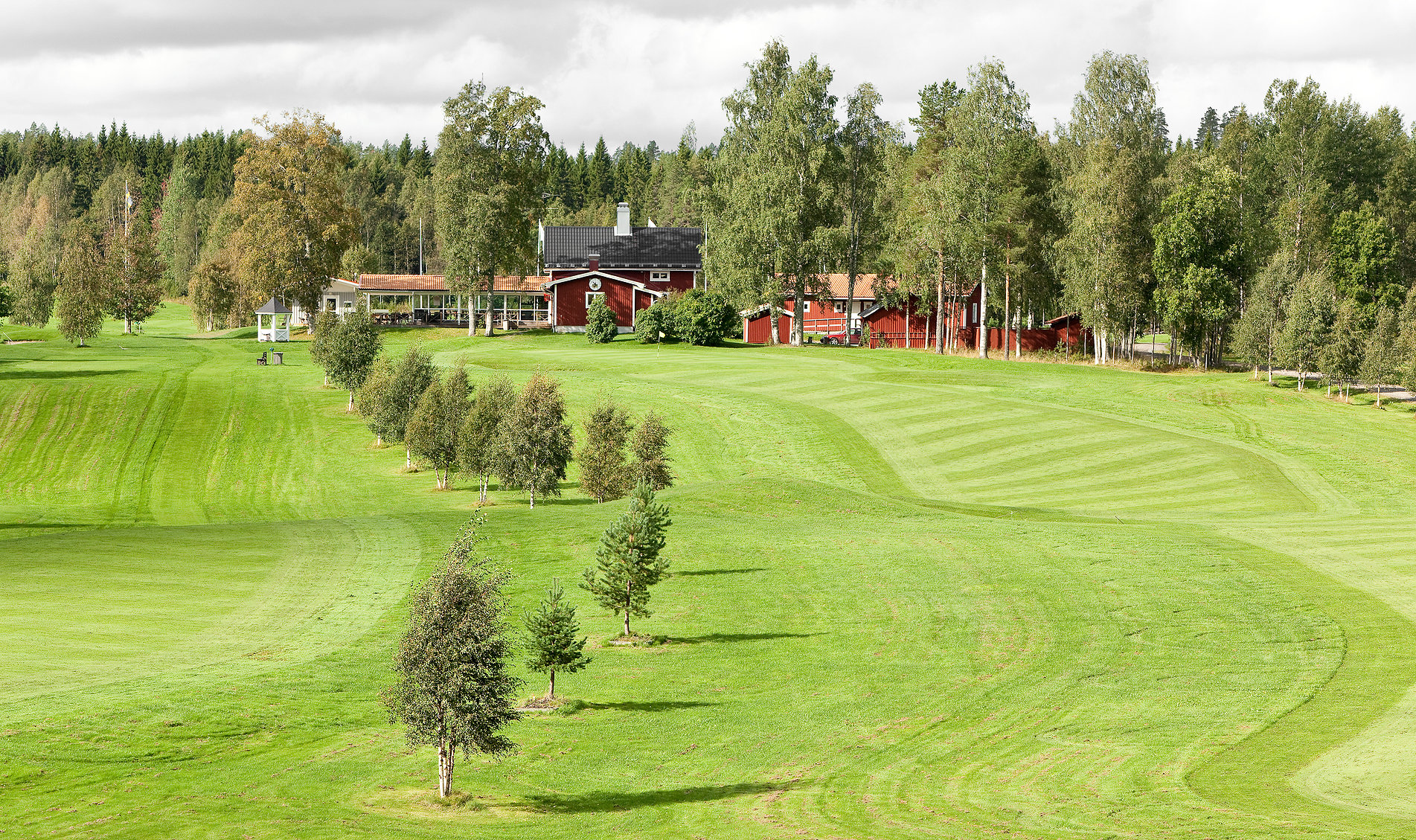 Overview of golf course named Sorfors Golfklubb