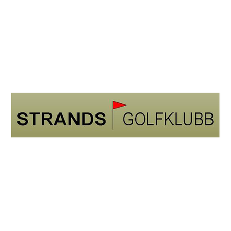Logo of golf course named Strand Golf and Resort