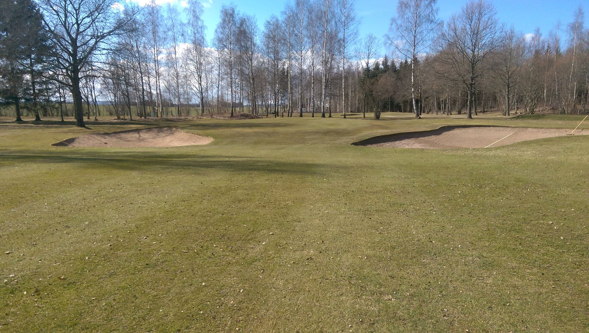 Overview of golf course named Vadstena Golfklubb
