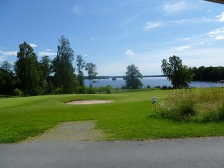 Overview of golf course named Varnamo Golfklubb
